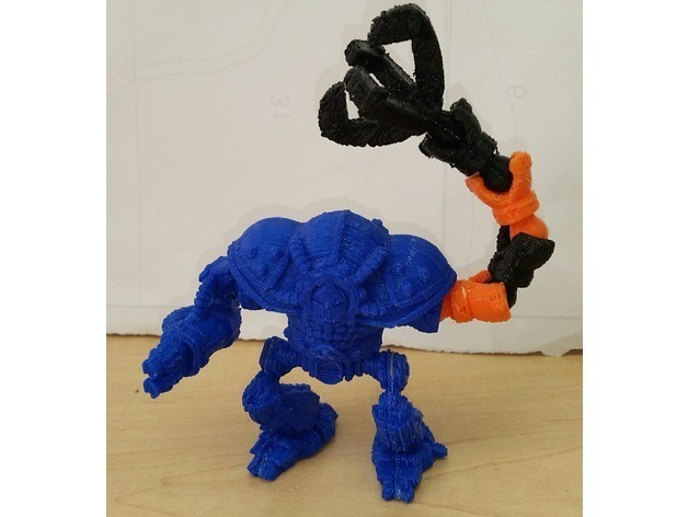 d2b5ca33bd970f64a6301fa75ae2eb22_preview_featured-1.jpg Download free STL file Modular Mech Helbrute Expansion • 3D printing object, mrhers2