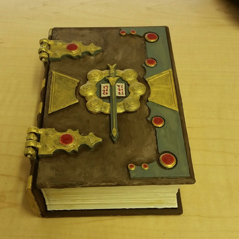 Free 3d printer designs Dice Box DnD Book, mrhers2