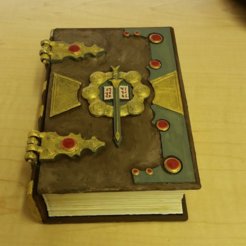 archivos 3d Dice Box DnD Book gratis, mrhers2
