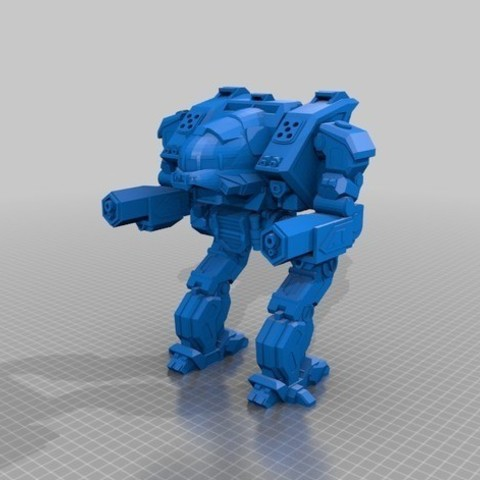 Free  Ball Joint Linebacker Mech 3D model, mrhers2