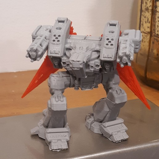 Download free 3D printer model Modular Mech Death from Above, mrhers2