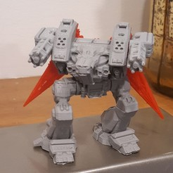 Download free STL file Modular Mech Death from Above • 3D printable design, mrhers2