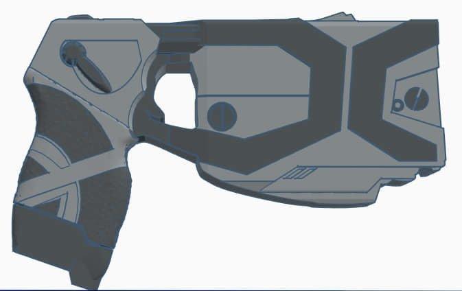 5e36eda2e0f41973db0427ed21a8d053_display_large.jpg Télécharger fichier STL gratuit Taser X2 • Plan pour imprimante 3D, mrhers2