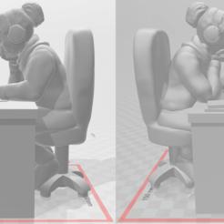 loafer_3.png Download free STL file Loafer Girl • 3D printer template, mrhers2