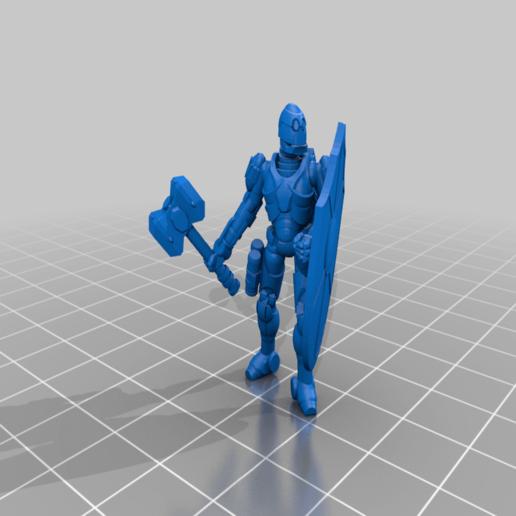 Download free 3D printer model Guardian Bot, mrhers2