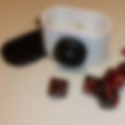 Free Camera Dice Box STL file, mrhers2
