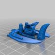 Download free STL file Hawk Ship • 3D printer template, mrhers2