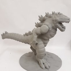 Free 3D print files Godzilla, mrhers2
