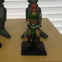 Download free 3D print files DnD Female Thief, mrhers2