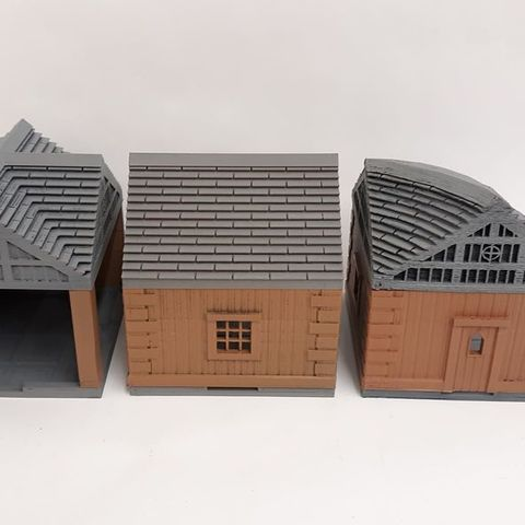 a8339be27f586256f106b4fdec564451_display_large.jpg Download free STL file Modular Houses • 3D printing design, mrhers2
