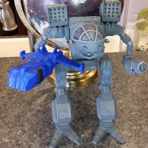 Free 3D printer files MechWarrior DropShip, mrhers2