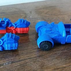Free 3D print files Supportless Laser Cat Vehicles, mrhers2