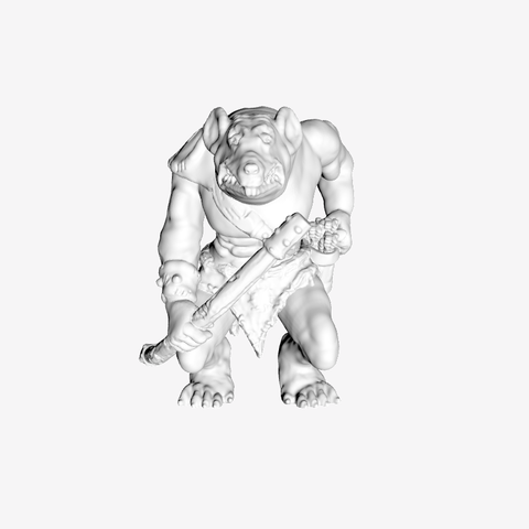 Download free 3D model Rat Archer, mrhers2