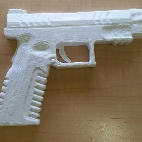 Descargar modelos 3D gratis Réplica de Springfield XDM, mrhers2