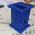 Download free 3D printing files Castle Dice Tower Combo, mrhers2