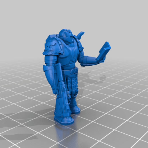Space_Priest.png Download free STL file Space Priest • 3D print object, mrhers2