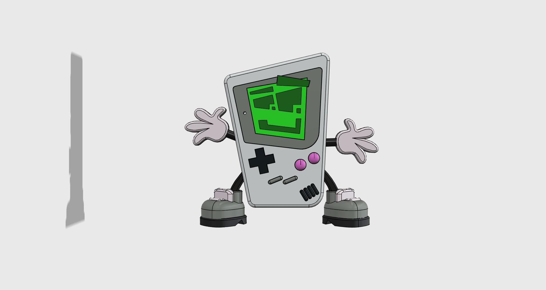 Gaming Gary front.png Télécharger fichier STL Jouer à Gary - Imprimer un Toons • Modèle à imprimer en 3D, neil3dprints