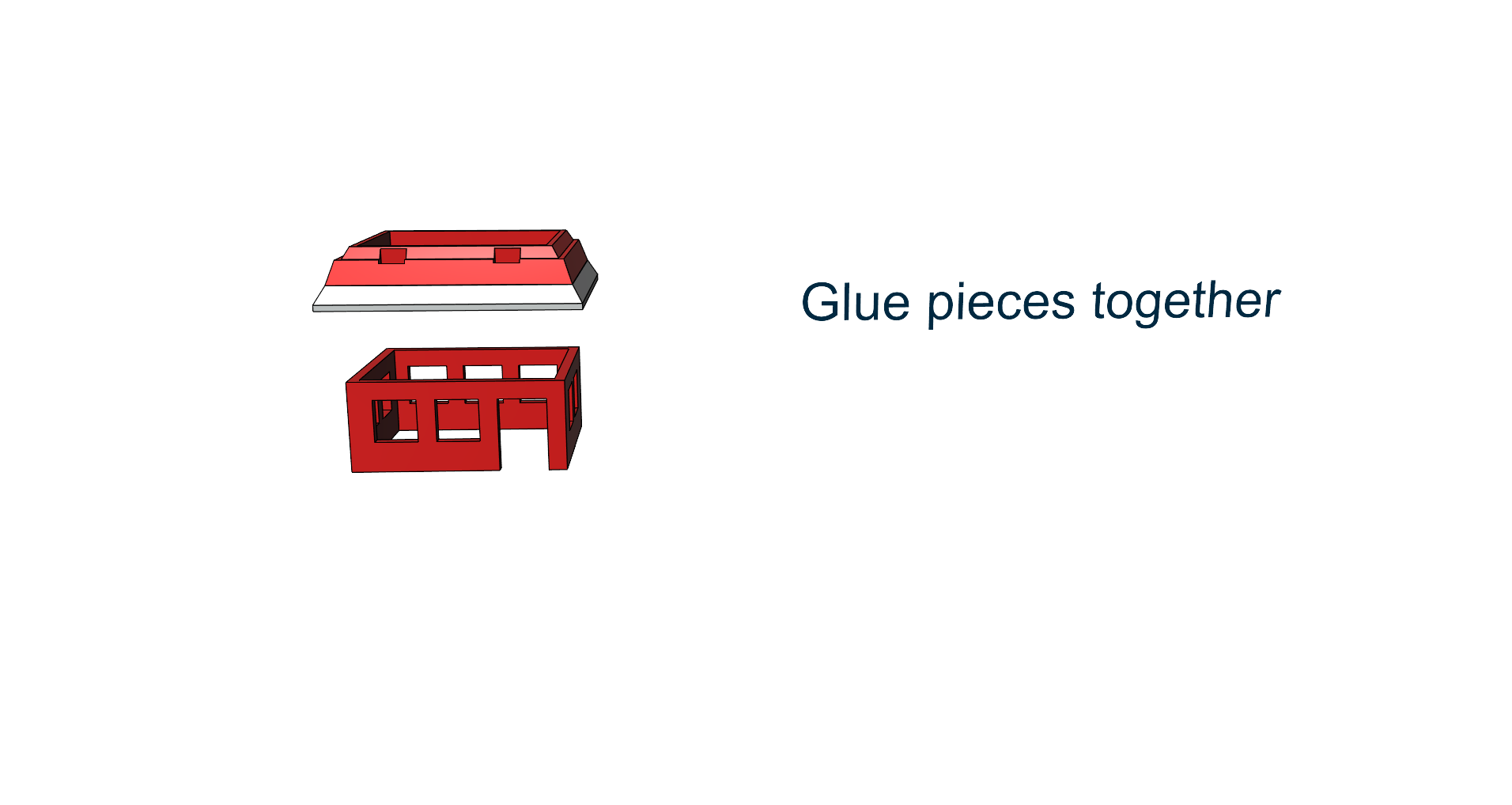 2.png Download free STL file Little Cities - Burger Drive Through • Template to 3D print, neil3dprints