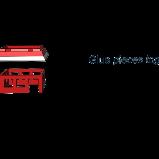 2.png Télécharger fichier STL gratuit Petites villes - Burger Drive Through • Objet pour impression 3D, neil3dprints