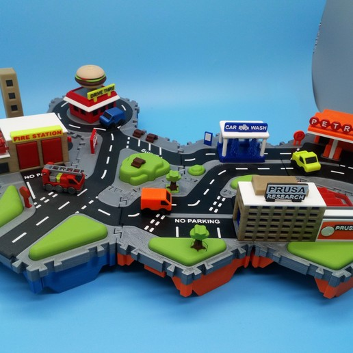 DSC_0903.JPG Download free STL file Little Cities - Burger Drive Through • Template to 3D print, neil3dprints