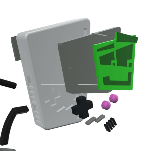 6.png Télécharger fichier STL Jouer à Gary - Imprimer un Toons • Modèle à imprimer en 3D, neil3dprints