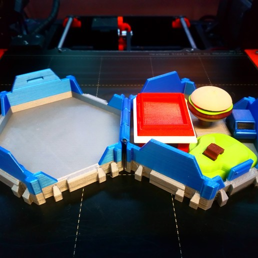 DSC_0909.JPG Download free STL file Little Cities - Burger Drive Through • Template to 3D print, neil3dprints
