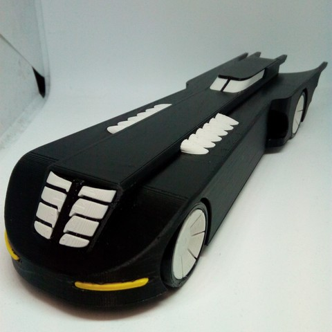 Download free 3D printer designs Batmobile - The Animated Series, ndh