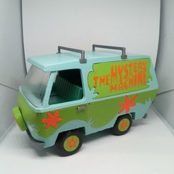 DSC_0184.JPG Download STL file The 'Mystery Machine' from 'Scooby Doo' • 3D printing template, neil3dprints