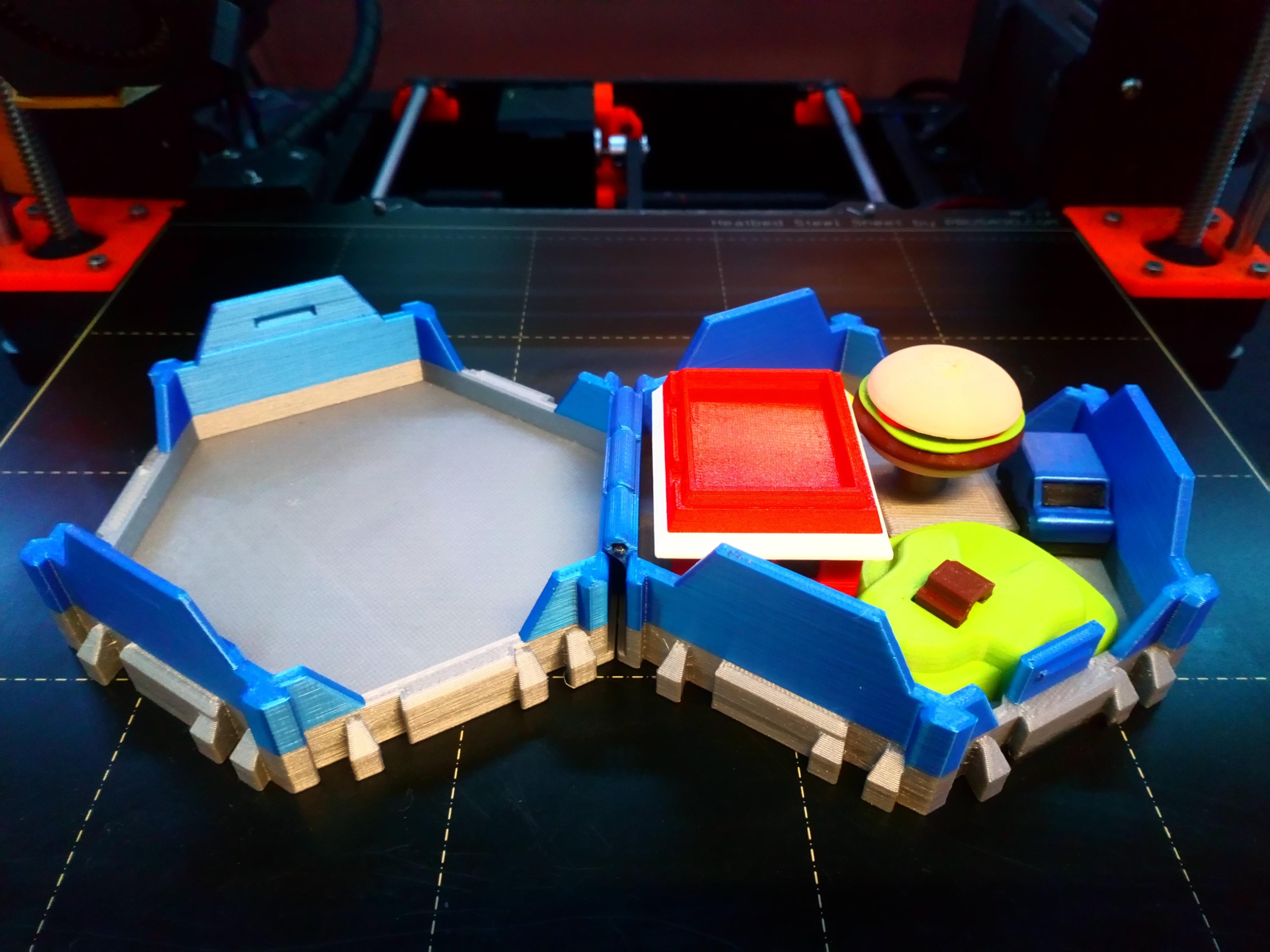 DSC_0908.JPG Download free STL file Little Cities - Burger Drive Through • Template to 3D print, neil3dprints