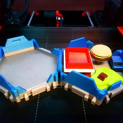 DSC_0908.JPG Télécharger fichier STL gratuit Petites villes - Burger Drive Through • Objet pour impression 3D, neil3dprints