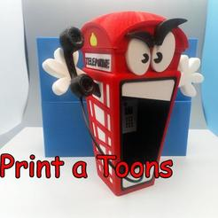 Barrybooth.jpg Download STL file Barry Booth - Print a Toons • 3D printable object, neil3dprints