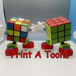 Rubix.jpg Download STL file Ruby Rubics - Print A Toons • 3D print model, neil3dprints