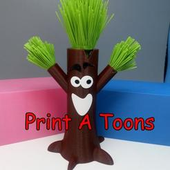 bert.jpg Download STL file Treebert - Print A Toons • 3D printable model, neil3dprints