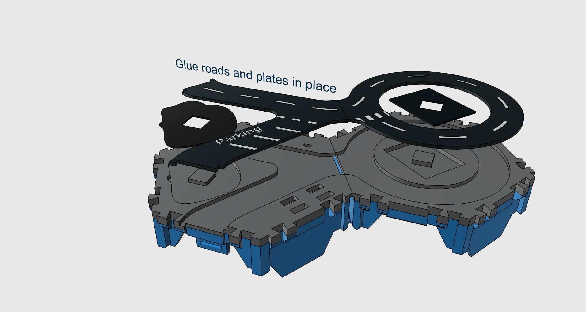3.png Télécharger fichier STL gratuit Petites villes - Burger Drive Through • Objet pour impression 3D, neil3dprints