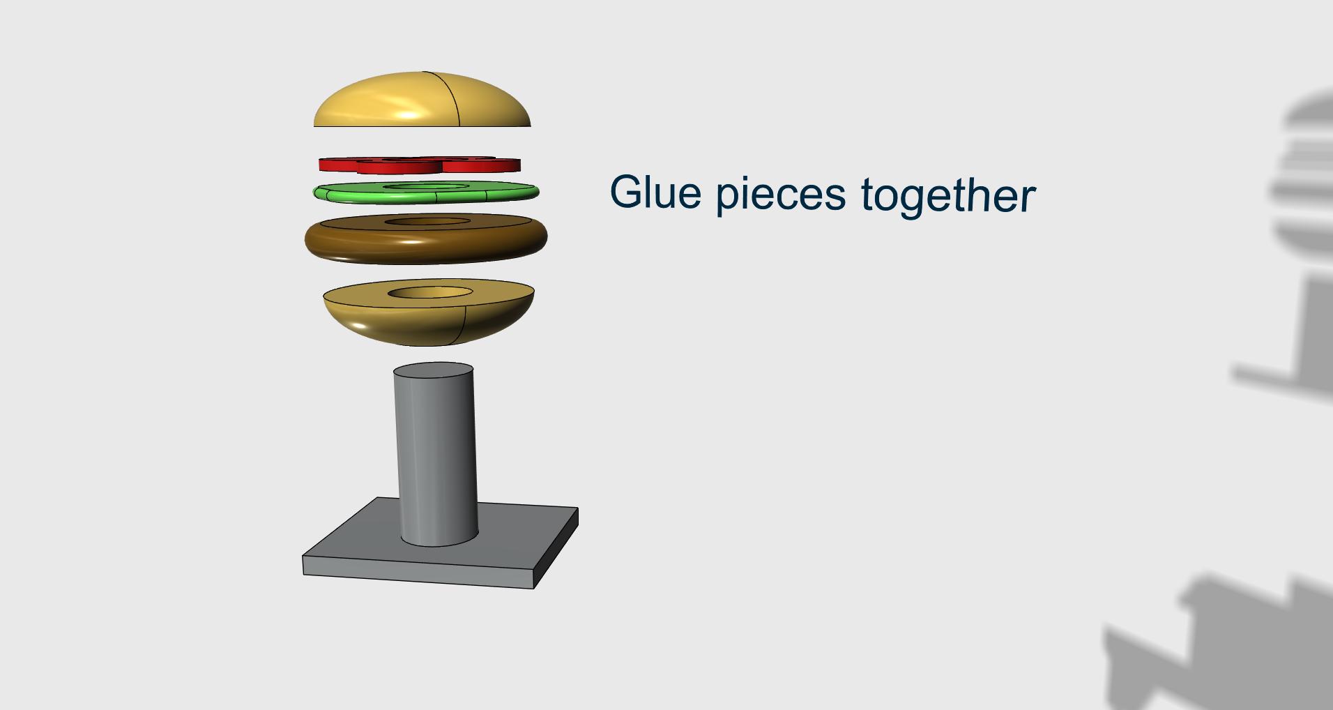 1.png Télécharger fichier STL gratuit Petites villes - Burger Drive Through • Objet pour impression 3D, neil3dprints
