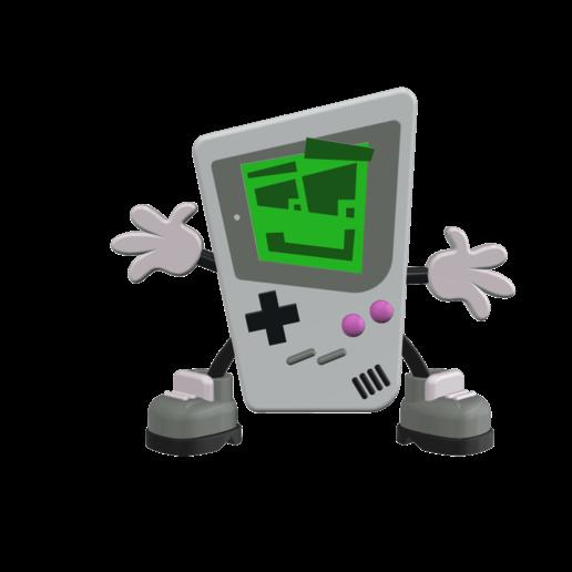 1.png Télécharger fichier STL Jouer à Gary - Imprimer un Toons • Modèle à imprimer en 3D, neil3dprints