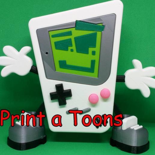 Gary.jpg Télécharger fichier STL Jouer à Gary - Imprimer un Toons • Modèle à imprimer en 3D, neil3dprints