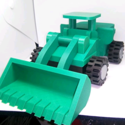 Modelo 3D CARGADOR FRONTAL LiL, ndh