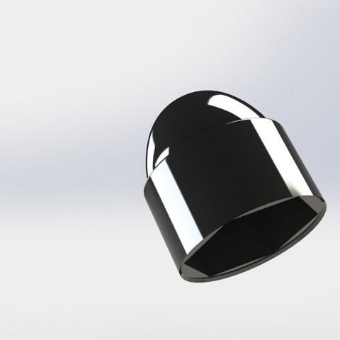 Fichier STL couvercle hovers trampoline vis, Paulocnc
