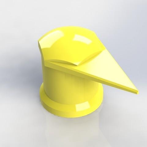 protecao roda camiao.JPG Download STL file wheel bolt indicator • 3D printing design, Paulocnc