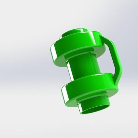 Modèle 3D proctecao trampoline, Paulocnc