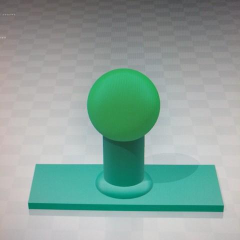 Download free 3D printer model blank ink stamp SUPPORT, MiguelngelMartnezDaz