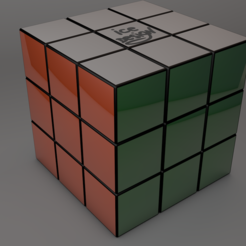 Download 3D printing models 3X3 RUBIK'S CUBE, 3adrotik8