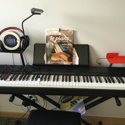 Download free 3D print files Tablet for Piano (Electronic Keyboard), Goupil