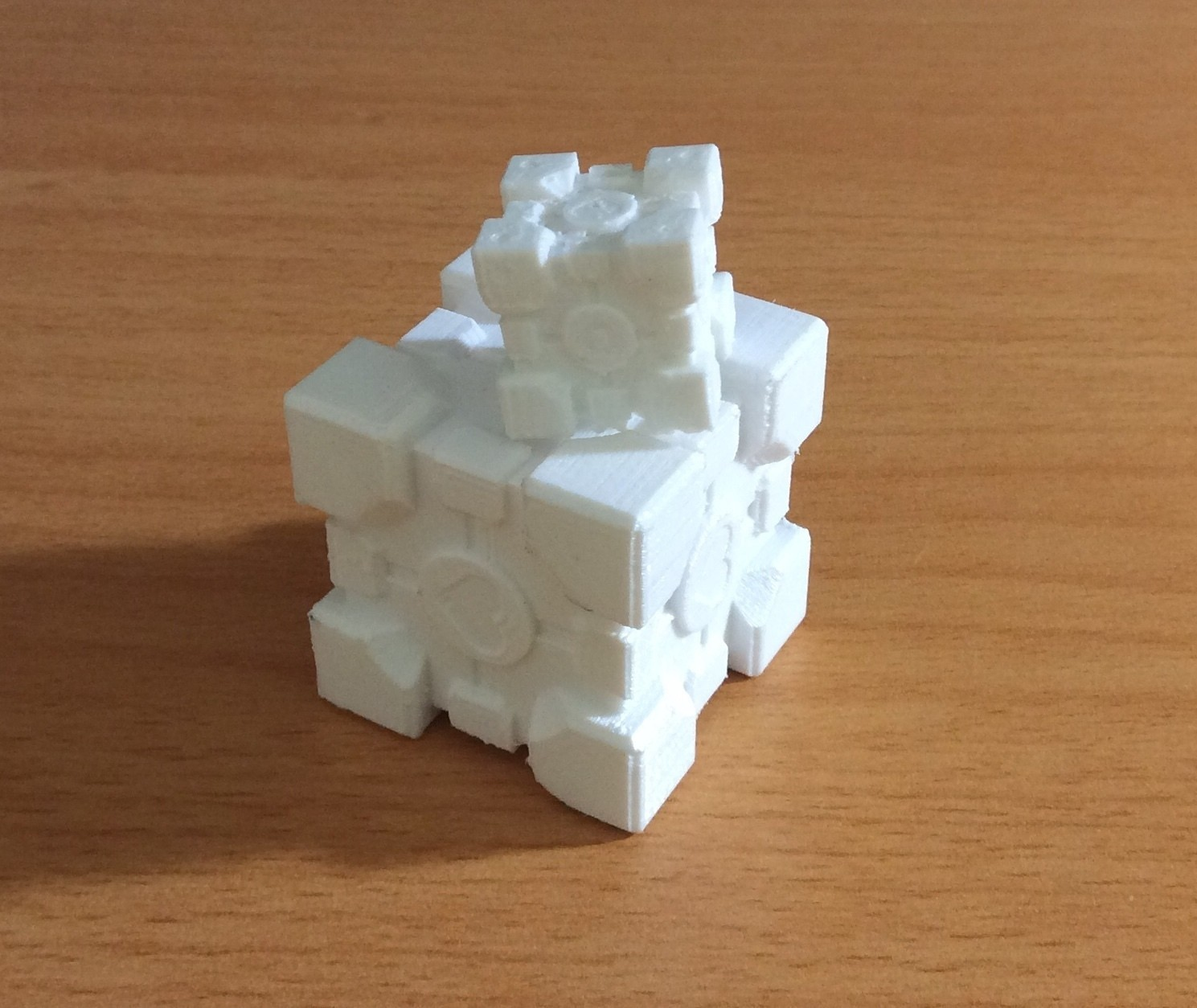 IMG_E3366.JPG Download free STL file Companion Cube • 3D printing design, Kurtis