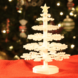Free STL Desktop Christmas Tree with LED star, GadgetsThatGo