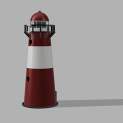 far v2.png Download STL file  LIGHT HOUSE DIORAMA  • 3D printer model, 3DMARKED