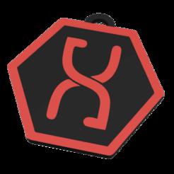 allteredcarbon (v1~recovered).png Download STL file ALTERED CARBON KEYCHAIN • 3D printing model, 3DMARKED