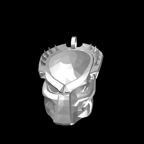 46E1BB33-15C1-4C8B-A48E-1B62F96267AD.png Download STL file Predator Pendant • Object to 3D print, Kraken1983