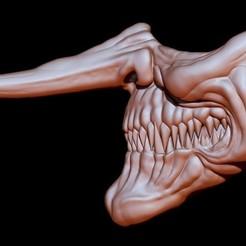 Mascara Payaso 02 Nariz Larga por VRM.jpg Télécharger fichier STL masque Clown 2 • Modèle pour imprimante 3D, Kraken1983